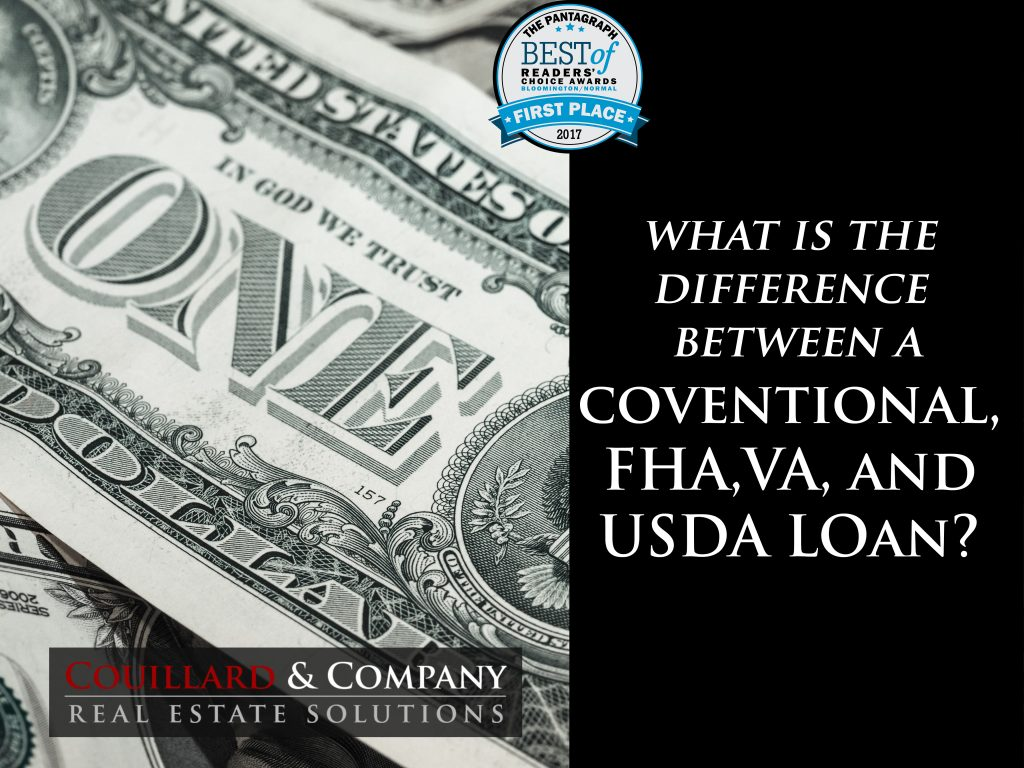 prime differences between conventional fha va and usda loans. Black Bedroom Furniture Sets. Home Design Ideas