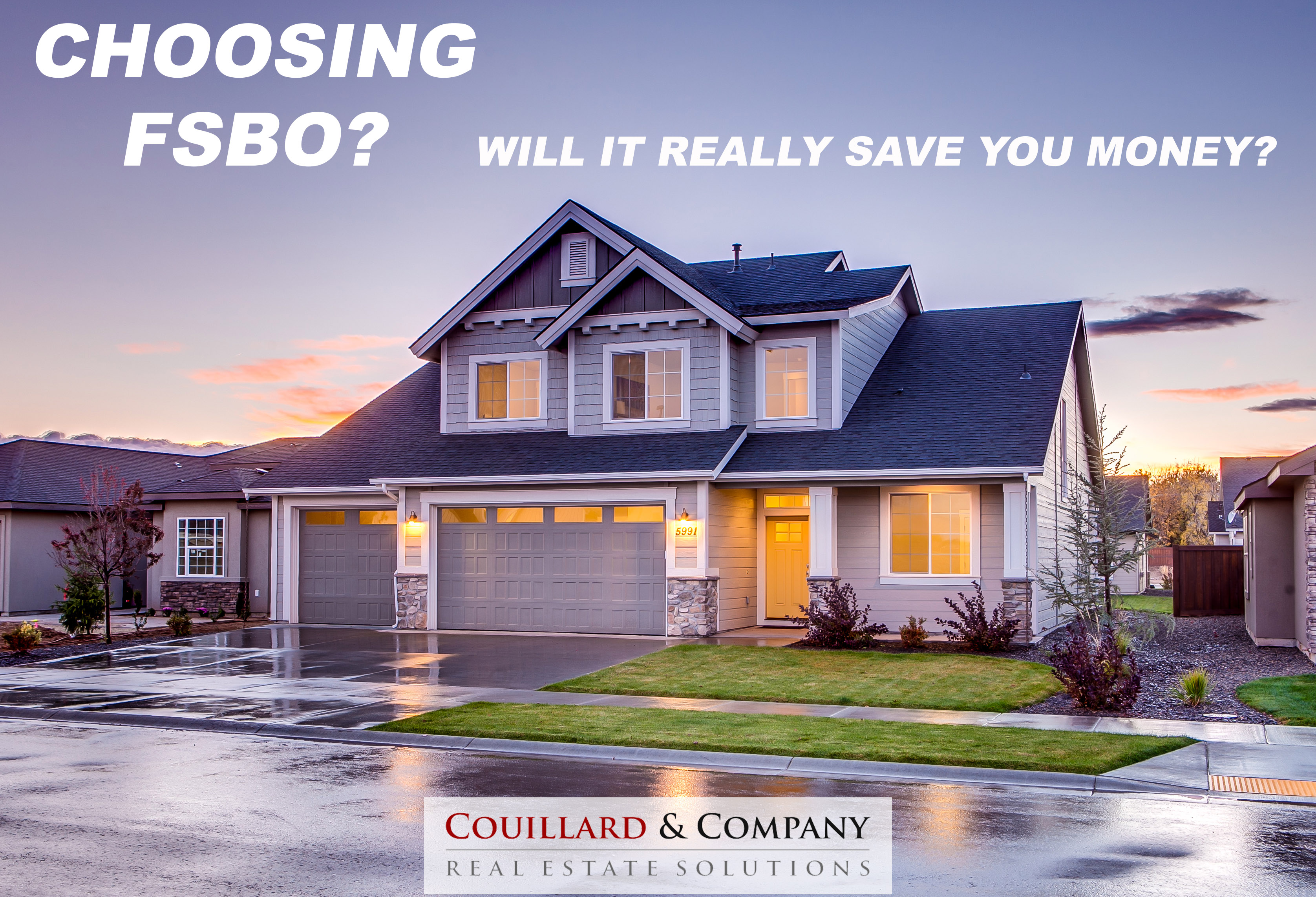 Are you choosing to sell FSBO